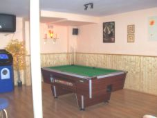 Area for Pool Table